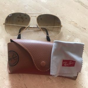 Light Brown Aviator Ray Bands